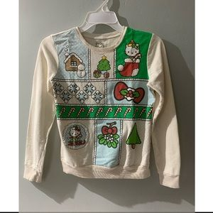 Hello kitty ugly sweater for Christmas